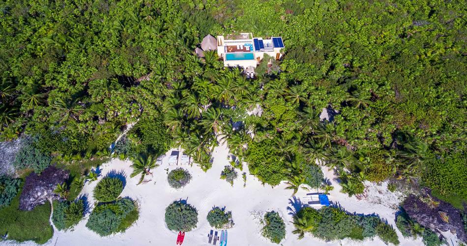 Aerial View of Hacienda Chekul